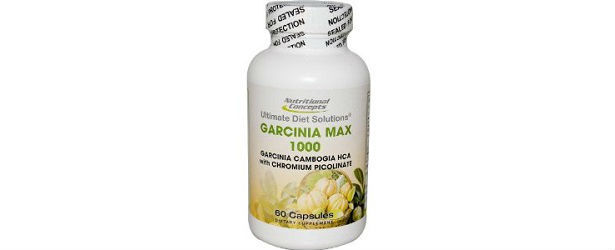 Nutritional Concepts Garcinia Max 1000 Review